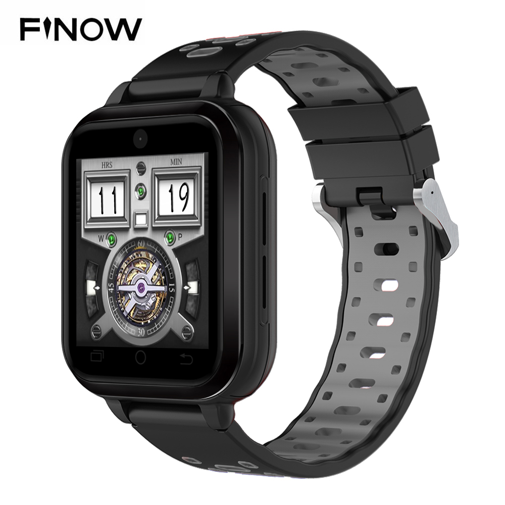 4G Smart Watch Finow Q1 pro Smartwatches MTK6737 Android 6 0 IP67  Waterproof Sim card Wifi Wearable Devices 2MP Camera For Video