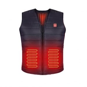 Women Men Carbon Fiber Wasbaar Usb Opladen Verwarming Warm Vest Controle Temperatuur Clothing Warmer Clothes#40