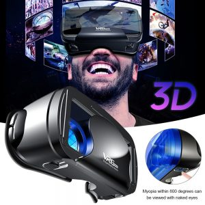 VRG Pro 3D VR Glasses Virtual Reality Wide-Angle Full Screen Visual VR Glasses