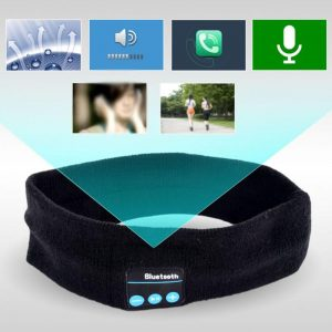 Ant Cloud bluetooth Music Headband Knits Sleeping Headwear Sport Headphone Speaker Headset Yoga Running Breathable Elastic