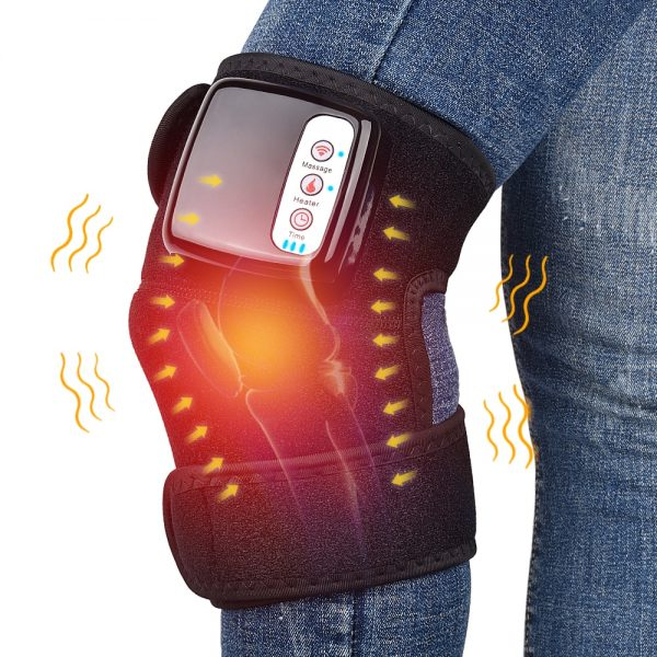 Far Infrared Heating Massager Knee Brace Vibration Pain Relief Therapy Joint Shoulder Elbow Physiotherapy Arthritis Massage Belt