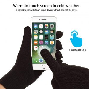 Bluetooth Earphones Gloves Mittens Winter Men Women Wireless Headphones Handsfree Headset Touch Screen Gloves For Phone Xiaomi
