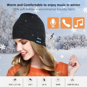 Bluetooth Headphone Winter Hat Warm Beanie Music Cap With Gloves Wireless Bluetooth Earphone Speaker With Mic Sport Hat Headset