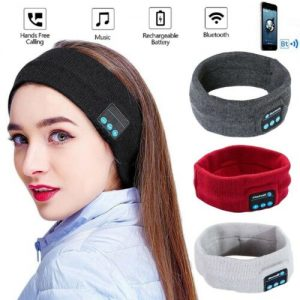 Wireless Bluetooth Stereo Headphones Running Earphone Sleep Headset Sports Sleeping Music Headband JOY Fashion