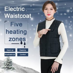 Outdoor Heated Jacket Heating Vest USB Charging