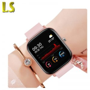 LS Weather Forecast Sport P8b Men Women Smartwatch Heart Rate Blood Oxygen Monitor Smart Watch 2020 Sport Fitness Tracker