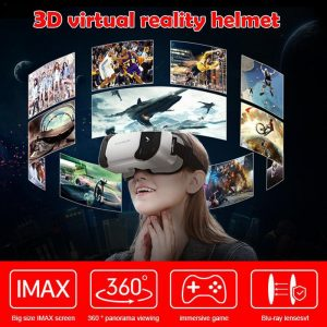 VR Virtual Reality Helmet for 4.7-6.0 inches Android iOS Smart Phones 3D Glasses Box