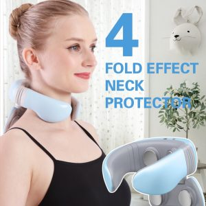 Smart Electric Neck and Shoulder Massager Pain Relief Tool Health Care Relaxation Cervical Vertebra Physiotherapy 4D Neck Massag