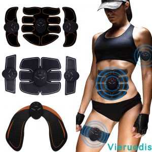 Butt Trainer Muscle Stimulator ABS Fitness Buttocks Abdominal Trainer Toner Slimming Massager Neutral