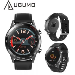 UGUMO T23 Smart Watch Waterproof Body Temperature Fitness Tracker Smart Bracelet Heart Rate Monitor for IOS Android Men Women