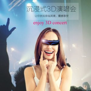 2018 Best Selling 3D Smart full HD Virtual Video Glasses Private Cinema Smart Android HD 1080P man woman 3D Video smart Glasses