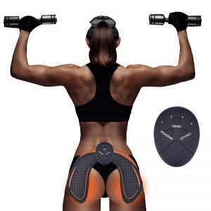 EMS Hip Muscle Stimulator Smart Abdominal Trainer Buttocks Lifting Fitness Dropshipping Weight loss Body Slimming Massager