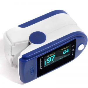 Finger clip Wearable Technology Heart Rate Pulse Oximeter Tracker Smart health detection Oxygen Boold Pressure FS0683-1