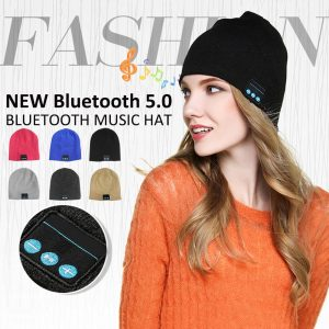 Bluetooth Headphones Hat Super Soft Knitted Music Beanie Bluetooth Brimless Music Cap For Winter Outdoor Sport Dropshipping