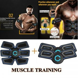 Abdominal Muscle Simulator EMS Smart Abs Fitness Gear Electronic Electro stimulation Exercise Home Gym Fitness Workout Equipment
