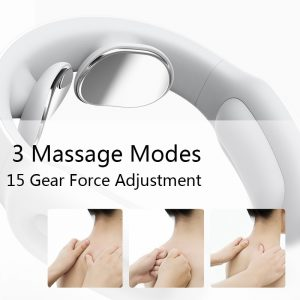 Neck Massager Electric Neck Massage Pain Relief Tool Health Care Relaxation Cervical Vertebra Physiotherapy