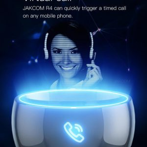 Jakcom Smart Ring R4 Hot Sale In Smart Gadgets Accessories New Technology for Android Windows NFC Mobile Phone mens jewellry