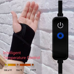 Graphene times Hot Multifunctional Electric Wrist Heating Brace Infrared Wrist Therapy Easy to Use