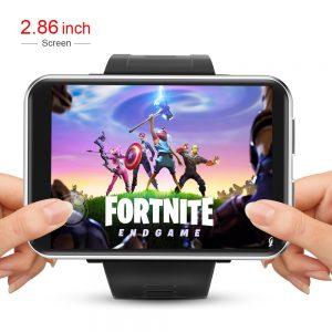 LEMFO LEMT 4G Smart Watch Men Android 7.1 2.8 Inch 640*480 Screen 3GB + 32GB GPS WIFI 2700mah Big Battery