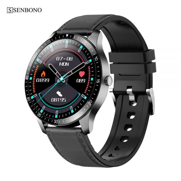SENBONO S80 Men Women Smart Watch Sports Fitness Tracker support Heart Rate Sleep Monitor Multi-sport Smartwatch for IOS Android
