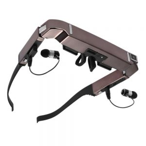 BEESCLOVER Vision 800 Smart Android WiFi Glasses Wide Screen Portable Video 3D Glasses Private Theater with Bluetooth Camera r25